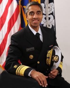 Surgeon General. Vice Admiral (VADM) Vivek H. Murthy, M.D.,M.B.A.