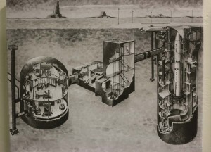 A diagram showing the underground Titan II missile silo.
