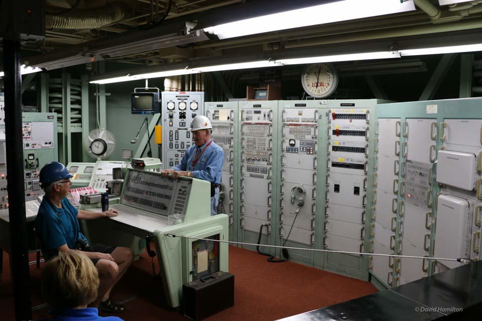 Titan II missile control room