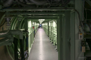 Corridor to the Titan II missile silo